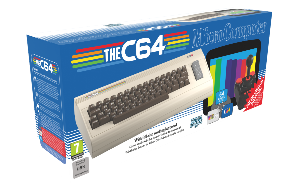 "UX Designer John ""The Wingless"" Burnett Commodore64 image"