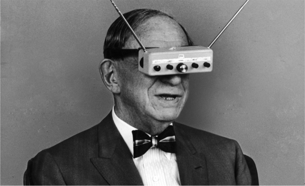Virtual Reality UX googles early