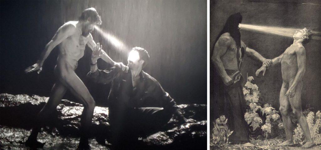 The Lighthouse Homage versus Theft The Wingless John Burnett Hypnos Sascha Schneider