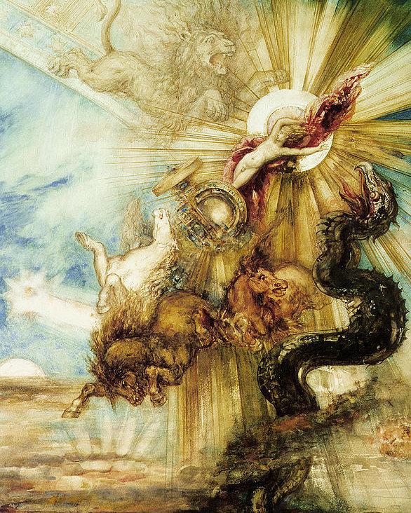 The Lighthouse Homage versus Theft The Wingless John Burnett The Fall of Phaeton Gustav Moreau