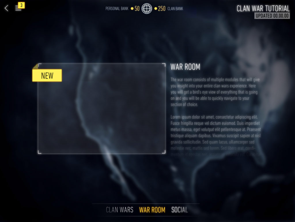learn UX and UI call of duty