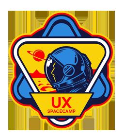 UX Spacecamp UI UX Design portfolio logo small