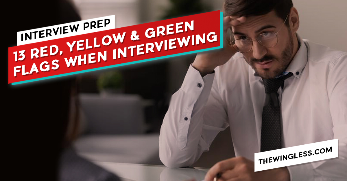 The 13 Green, Yellow and Red Flags when interviewing for a UI UX job thumb