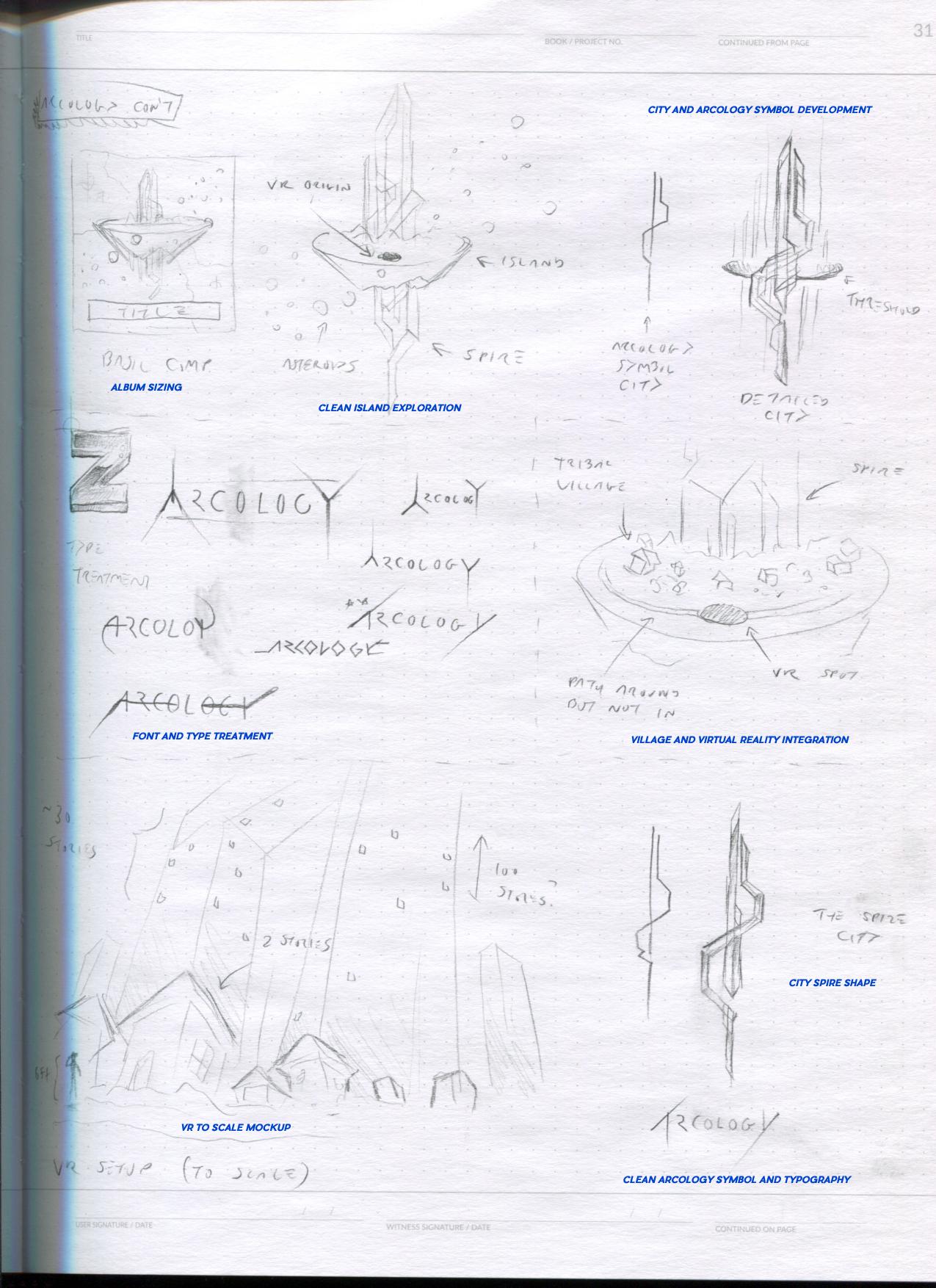 Zircon Arcology Andrew Aversa Remix Tilt Brush VR notes2