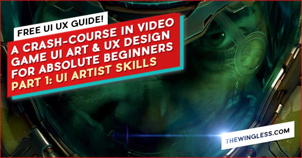 Game UI Design Course doom helmet