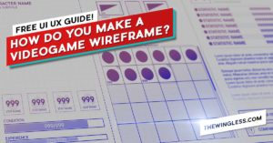 videogame UX Wireframe examples cover